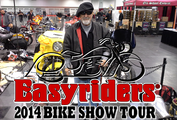 easyriders 2014 motorcycle show - kd customs orange county california